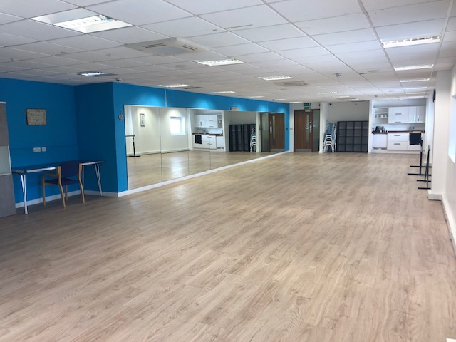 Inside the Evolve Dance Academy Studio at Borehamwood